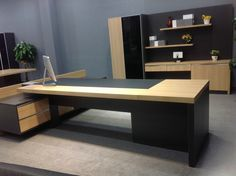 Office Furniture Design, Office Interior Design, Office Interiors, Open Space Office, Office Table, Wood Desk, Desks, Corner Desk, Luxury