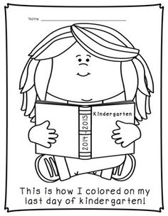 graduation coloring pages grad pinterest coloring pages - School Coloring Pages For Kindergarten