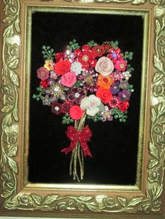 Hey, I found this really awesome Etsy listing at https://www.etsy.com/listing/217862026/valentines-day-floral-bouquet-jewelry