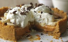 Quick Banoffee Pie by (Banana, Caramel) @FoodNetwork_UK
