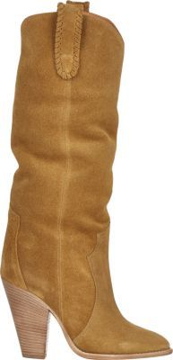 Isabel Marant Étoile Suede Ruth Knee-Boots at Barneys New York