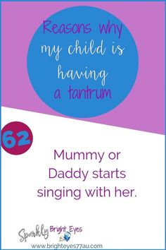 78 reasons why my child is having a tantrum 62 #tantrums #toddlers #sparklybrighteyes #quotes #funny