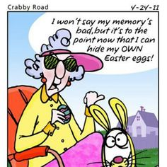 Maxine on Easter Funnies - Maxine Humor - Maxine Humor meme - - maxine cartoons This is the first time I've ever really fully related to these. The post Maxine on Easter Funnies appeared first on Gag Dad. Funny Easter Memes, Funny Memes, Funny Cartoons, Easter Jokes, Hilarious Jokes, Funny Posters, Car Memes, Funny Comics, Easter Pictures
