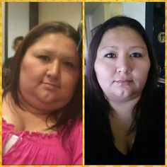 Her journey is a work in progress and shes winning #weightloss #skinnyfiber