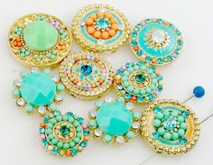 9 unqiue bead slider beads 11242 - Mobile Boutique