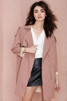 Glamorous Emory Cocoon Coat