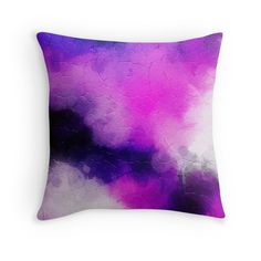 Modern Contemporary Ultra Violet Abstract Design