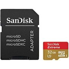 SanDisk SDSDQX032GAAW4A 32 GB Extreme Plus microSD UHS-1 Class 10 Memory Card