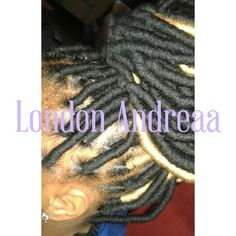 Faux Locs done by me 470-839-0946