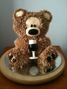 Philibin Bear  Cake by angiejay