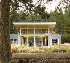 Modern Cabin Designed by Stuart Silk Architects
