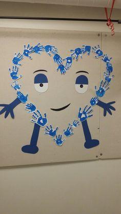 Doddo gjordes i samband när vi hade kompistema på förskolan . Vi gjorde kompishänder och samarbetade.