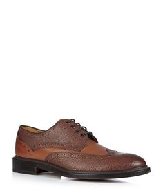 Hasketon chestnut leather brogues Sale - Oliver Sweeney