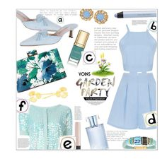 """It's a Great Day for A Garden Party!!.."""" by jckallan ❤ liked on Polyvore featuring Manolo Blahnik, Twin-Set, shu uemura, Dolce&Gabbana, NARS Cosmetics, Orlane and yoins"