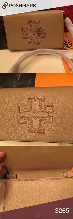 Tory Burch Harper wallet crossbody/NWOT New without tag/ it was just kept in my drawer in a dust bag as an extra precious saved bag.comes with removable and adjustable strap. Cute crossbody plus gorgeous look! Tory Burch Bags Crossbody Bags