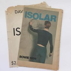 idea.ltd Original envelope. Nineteen seventy six. Steve Shapiro photograph on the cover of David Bowie's Isolar. The most amaze tour programme /  picture newspaper there ever was. Don't. Not. Email if you want@ideanow.online #davidbowie #isolar #1976 #steveshapiro 2016/10/17 02:35:44
