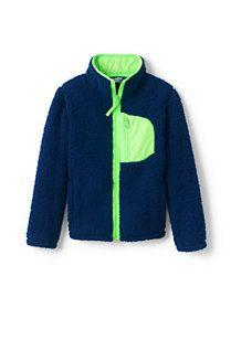59a5beee3 Kids' Sherpa Fleece Jacket | Kids' Clothes | Pinterest | Jackets ...