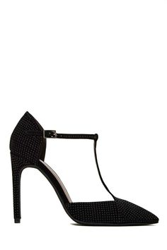 Jeffrey Campbell Teatime Stud Heel | t-strap pointy toe pump perfection for me and my style