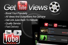 http://buyyoutubeviewsandlikes.com/  Buy real YouTube subscribers
