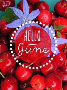 Hello June - ®www.image-gratuite.com