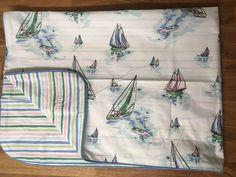 Cath Kidston Shops Boats / Stripes 1 Oxford Pillowcase Cotton Percale New   eBay Cath Kidston Shop, Boats, Pillow Covers, Bed Pillows, Coastal, Oxford, Shops, Stripes, Pattern