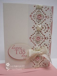 wedding card... change the theme and it'd still be really pretty :)