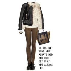 """""""Jacket by MAJE"""" by fashionmonkey1 on Polyvore"""