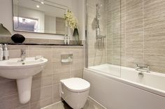 The Southwold at Bovis Homes at Heyford Park, Upper Heyford Bathroom Inspo, Bathroom Layout, Bathroom Inspiration, Bathroom Ideas, Bathroom Without Windows, Bovis Homes, Family Bathroom, Downstairs Bathroom, Bathroom Design Small