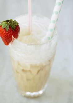Italian Cream Soda Recipe by Brown Eyed Baker :: http://www.browneyedbake...