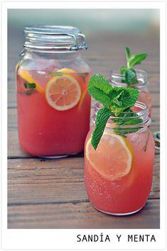 Bebidas refrescantes DIY