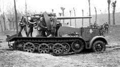 8,8 cm Flak 18 (Sfl.) auf Zugkraftwagen 12t (Sd.Kfz. 8) | Flickr