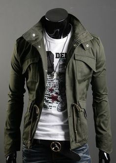 lovin' the jacket, the tee is a great way to keep it casual or go ahead and dress it up