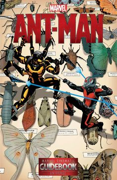 Guidebook to the Marvel Cinematic Universe - Marvel's Ant-Man #1 #Marvel @marvel @marvelofficial #AntMan (Cover Artist: Mike Del Mundo) Release Date: 5/25/2016