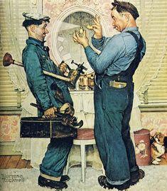 Норман Роквелл (англ. Norman Percevel Rockwell) (3 февраля 1894, Нью-Йорк, штат Нью-Йорк — 8 ноября 1978, Стокбридж, штат Массачусетс) — американский художник и иллюстратор. Норман…