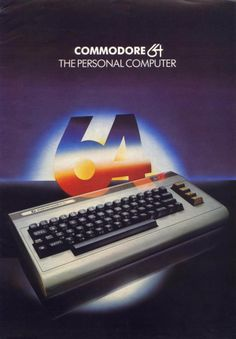 Commodore 64 - Scott's first computer. He loved it. By the time he started to college, he had already had all the computer classes offered at PCC. Alter Computer, Gaming Computer, Computer Science, Vintage Advertisements, Vintage Ads, Old Technology, Retro Video Games, Retro Games, Retro Art