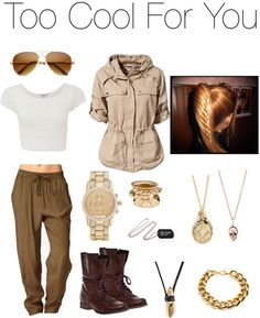 """""""Too Cool For You"""" by sarahawrami on Polyvore"""