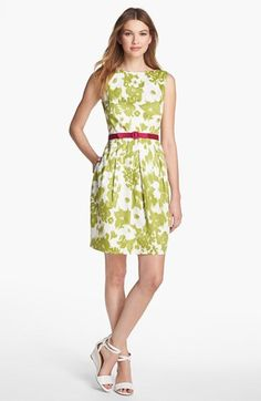 Eliza J Floral Print Sheath Dress (Petite) available at #Nordstrom