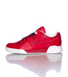 0eae3208974c4d REEBOK Low top men s sneaker Lace up closure REEBOK logo on padded tongue  Patent leather detail throughout shoe Cushioned inner sole for comfort