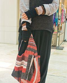 装いに色を。播州織のショール「tamaki niime」   阪急阪神百貨店・ライフスタイルニュース