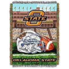 Oklahoma State University Tapestry Throw Blanket