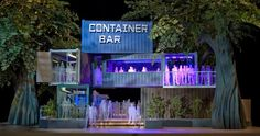 shipping container, restaurant - Google Search