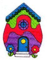 Freebie Easter House for 4in hoop & 5 other freebies