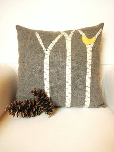 Decorative Spring Pillow by AwayUpNorth