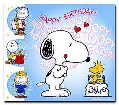 Buon Compleanno da Snoopy