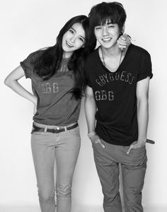 Korean Sister And Brother