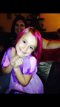 Pink fun Kids Hair Color, Pink Ombre Hair, Coloring For Kids, Trendy Hairstyles, Fun, Fashion, Fin Fun, Moda, Trendy Haircuts