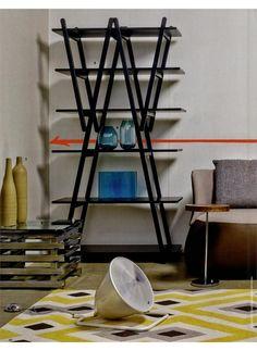 ELLE DECORATION - NUVOLA ROSSA, design Vico Magistretti