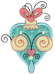 Whimsy Ornaments Applique 3, SWAK Pack - 2 Sizes! | Christmas | Machine Embroidery Designs | SWAKembroidery.com Bunnycup Embroidery