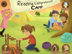 Speech Room News: Reading Comprehension Camp {app review} Pinned by SOS Inc. Resources. Follow all our boards at pinterest.com/sostherapy for therapy resources.