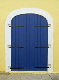 Door in Charlotte Amalie - St. Thomas